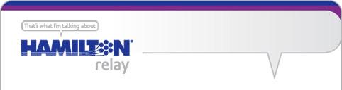 Hamilton Relay logo